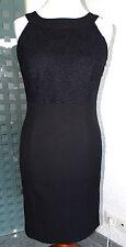 Neu esprit Etui Kleid Occasionwear schwarz Gr.36 - 38 mit edler Spitze