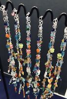 Stone & Glass 12 Pieces Wholesale Necklaces Jewelry