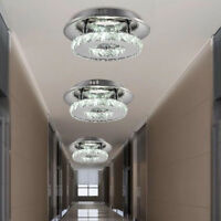 12W Modern LED Crystal Ceiling Light Lamp Home Bilayer Chandelier Aisle  ! ~