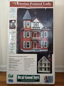 Real Good Toys Victorian Painted Lady Dollhouse Kit Model # JM4600