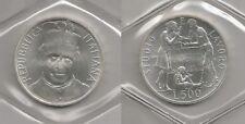 REPUBBLICA ITALIANA - 500 Lire argento San Giovanni Bosco 1988