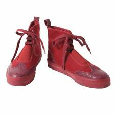 Y's Part leather High-cut design sneakers Size US About  6(K-30362)