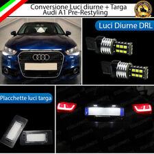 COVERSIONE LUCI DIURNE DRL T20 + LUCI TARGA LED AUDI A1 PRE RESTYLING CANBUS