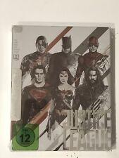 Justice League Blu-Ray Steelbook #26 Mondo Region Free Exclusive New Sealed