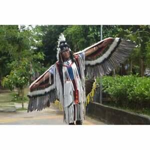 Mohawk Headdress, Mohawk Headpiece Halloween Costumes Women, Wings Tail Feathers