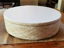 """Wedding Cake Stand Birthday Party, Special Event Display 16"""" Round"""