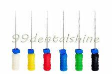 12Pcs NiTi Dental Endodontic K Files (L25mm #15-40) with CE & FDA Certificate