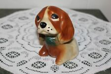 Vintage.Hand Painted.Very Cute.Puppy.Planter