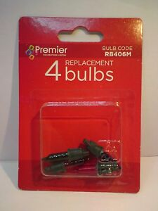 1 Pack Of 4 Replacement Multi Coloured Bulbs 12v 0.84w (SB34)
