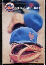 Schedule Baseball New York Mets - 1994 - Metlife Dwight Gooden