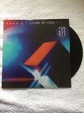 "TRANS X - Living On Video. Original Vinyl 12"" Single. 1983."