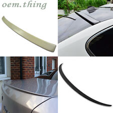 PAINTED BMW F10 5-Sedan A Type Roof & M5 Type Rear Trunk Spoiler 535d 528i 523i