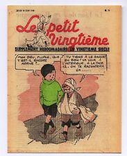 Carte Postale Tintin. Le Petit Vingtième n°26 du 30 JUIN 1938 - Quick et Fluoke