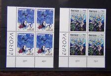 Faroe Islands 1997 Europa Tales and Legends set in blocks x 4 MNH