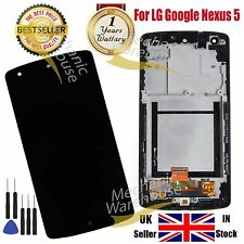 For LG D820 D821 Google Nexus 5 LCD Display Digitizer & Touch Screen & Frame UK