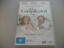 It's Complicated (DVD, 2010) Regions 2&4 Brand NEW    Meryl Streep, Alec Baldwin