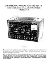 Assembly & Operation Manual-Anleitung für Heathkit EC-1