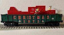 Lionel #36792 Christmas Animated Car Christmas Joy 2004, No Box No Reserve Lot
