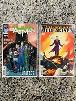 DC Comics Batman #89 & Hell Arisen #3 1st Appearance Of Punchline! 1st Prints!