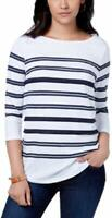 Charter Club Sequin Striped Top,