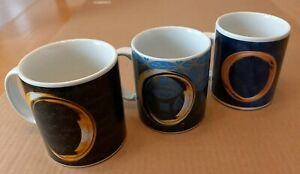 Lord of the Rings mugs set of 3 NEW / UNUSED free P&P within UK
