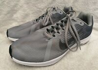 NIKE Men's Grey Downshifter 8 Trainers AQ2269-004 Running Shoes Size UK 8 - Used