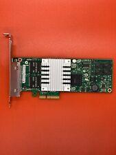 IBM 39Y6138 Intel Pro 1000 PT 4 Port RJ45 PCI-E Full Height Network Card