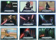 Star Wars Evolution 2016: Complete Lightsaber Evolution Set (9)