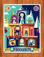 "Tin Sign ""Frozen Art"" Disney Cartoon Fan Movie Wall Poster"