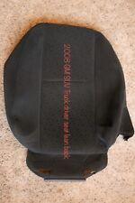 Driver Lean Back OEM Cloth Seat Cover Black 2007 2008 2009 Chevy Silverado NOS