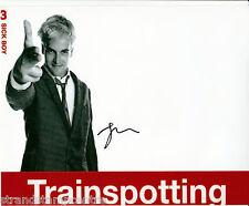 "Jonny Lee Miller - Colour 10""x 8"" Signed 'Trainspotting' Photo - UACC RD223"