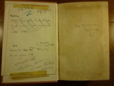 1911 H. G. WELLS The New Machiavelli INSCRIBED w/ draft telegram NOVEL Scandal
