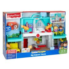 Fisher Price Little People Big Helpers Home Imaginative Play House - Teal