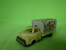 MADE IN JAPAN TIN TOYS DOGS PUPPIES KENNEL TRUCK 1/43 - GOOD CONDITION -
