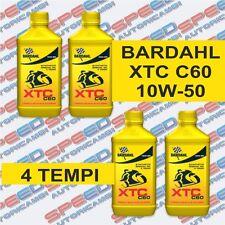 BARDAHL XTC C60 10W-50 OLIO MOTORE MOTO 4T 100% SINTETICO 4 LITRI ART. 338140