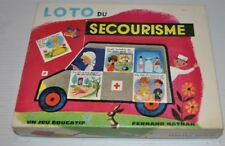 LOTO du SECOURISME French Board Game FERNAND NATHAN 1960s