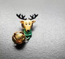 Reindeer collectible pin Christmas Deer