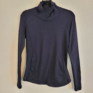 CALIA Carrie Underwood Size S Black Mock Neck Warm Pullover Active Sweatshirt