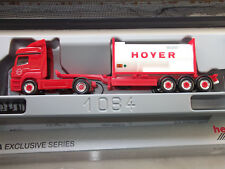 Herpa Exclusive MB Axor Silozug Rot - Weiß HOYER Logistic Group mit OVP 1:87