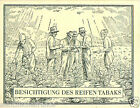 Macedonia Tour of the mature field TOBACCO HISTORY HISTOIRE DU TABAC CARD 30s