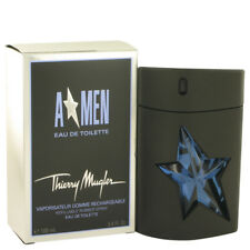ANGEL MEN (Refillable Rubber) by Thierry Mugler Men 100ML 3.4 oz EDT New in Box