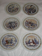 """Lot Of 6 Darceau Limoges French Collector Plates Premiere Edition Limited 8.5"""""""