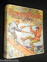 The Rover Book for Boys (1939) Vintage D C Thomson Children's Adventure Stories