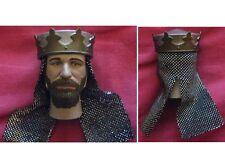 """Tête de chevalier roi mâles pour sideshow 1/6 scale 12 """"action figure BBI DRAGON."""