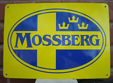 MOSSBERG & SONS SIGN Firearms Guns Shotgun Hunting Rifle Ad Logo Free Shipping