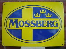 MOSSBERG & SONS SIGN Firearms Guns Shotgun Rifle Hunting Ad Logo  Free Shipping