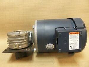 Leeson C6T17FC1G Motor 56C Frame 60HZ 3/4HP 1725RPM 208-230/460V W/ W5180032.00