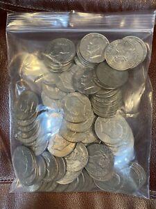 Lot Of 100 Eisenhower (IKE) Dollars Circ/Unc 1971-1978 (012)