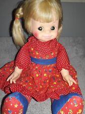 "Vintage 1974 Horsman Cloth Body 16"" Doll"