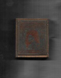 Bahawalpur Original Brass plate block for 2r 1948